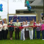 A ribbon cutting ceremony was recently held at the newly opened Bella Vita
