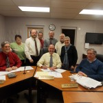"""With the approval of the city council, Mayor Rick Chambers signed the proclamation, declaring 2013 a """"Year of Health"""" for Knox."""